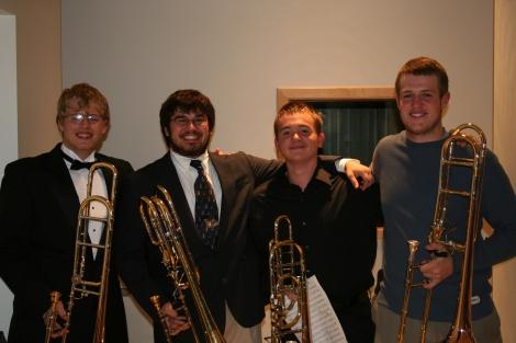 Frosh/Soph Quartet in varying degrees of formality