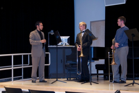 Paiewonsky works with Frosh/Soph Quartet