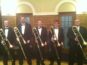 Symphony Band Trombone Section