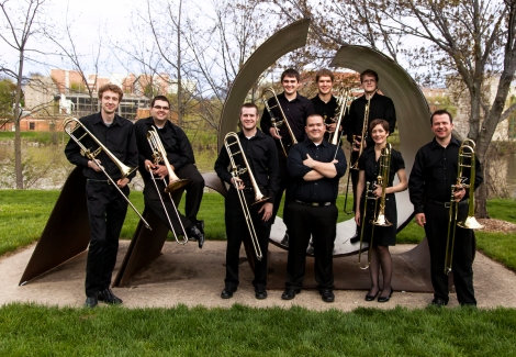 New Promo Photo for the Iowa Trombone Octet
