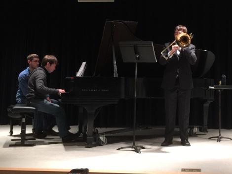 Justin Gingerich Recital